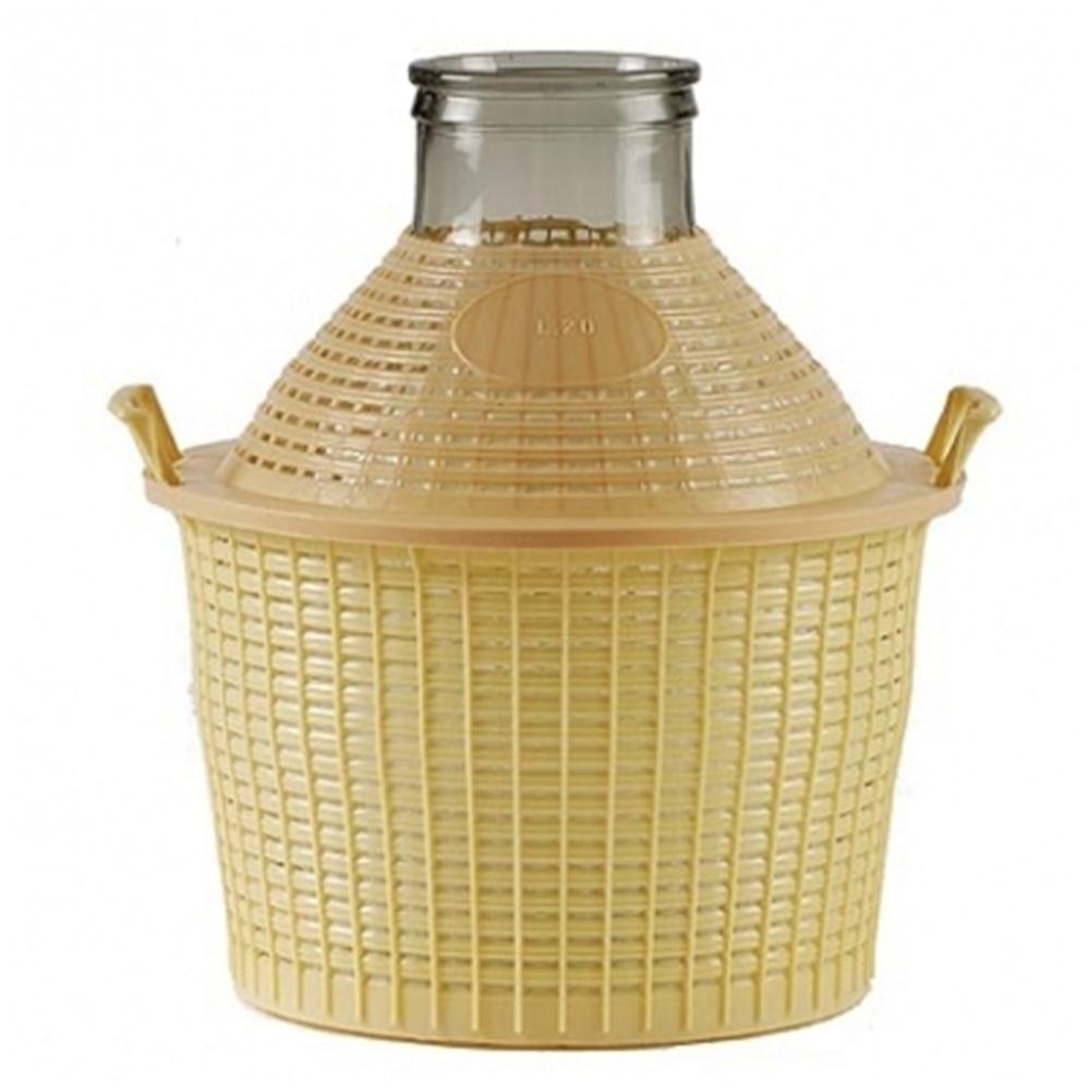 bonbonne en verre grande ouverture 20 litres tom press. Black Bedroom Furniture Sets. Home Design Ideas