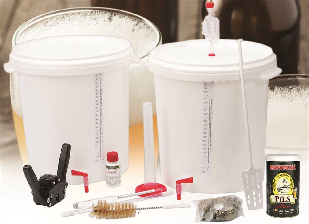 Kit à bière pour brasser à la maison avec 10 moût de Pils