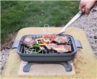 Barbecue de table en fonte