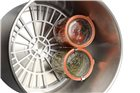 Stérilisateur électrique inox digital avec robinet Tom Press