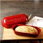Moule à grand pain de campagne en céramique rouge Grand Cru Emile Henry