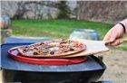 Pizza Stone 37 cm rainurée rouge Grand Cru Emile Henry