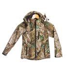 Blouson enfant camouflage feuille Bartavel Buffalo 10 ans softshell