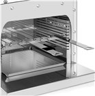 Support 8 brochettes inox 35 cm pour Turbogrill Pro double brûleur