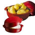Kit diable à pomme de terre et four à fromage Cheese Baker rouge Grand Cru Emile Henry