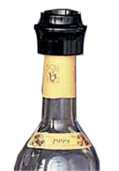 Bouchon sous vide pour bouteille de vin par 2