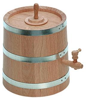 Vinaigrier en chêne 3 litres