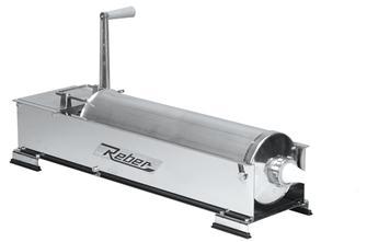 Poussoir à viande horizontal 10 litres inox Tom Press par Reber