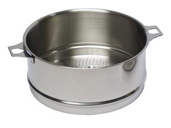 Passoire inox 24 cm pour cuit-vapeur