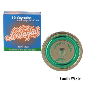 Capsule Familia Wiss® 100 mm par 12