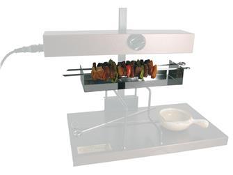 Option brochettes pour appareil à raclette ½ fromage