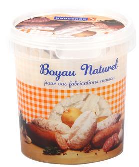 Boyaux menu de boeuf pour saucisson 37/40 par 18 mètres