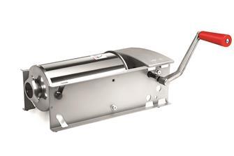 Poussoir à viande 5 litres horizontal Eco Inox Tre Spade