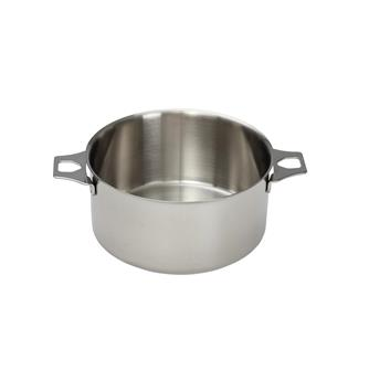 Casserole inox 14 cm sans queue