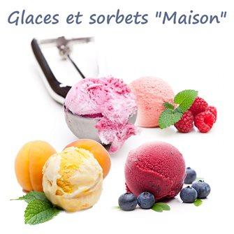 Les glaces et les sorbets maison
