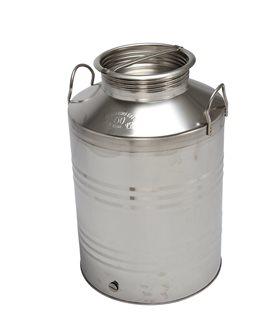 Bidon inox à huile 50 litres