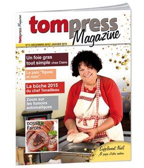 Tom Press Magazine décembre 2015 - janvier 2016