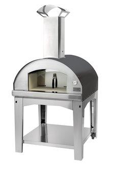 Four à pizza 60x80 cm avec grille pour barbecue