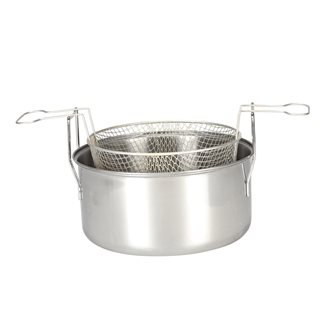 Friteuse du nord inox induction 28 cm
