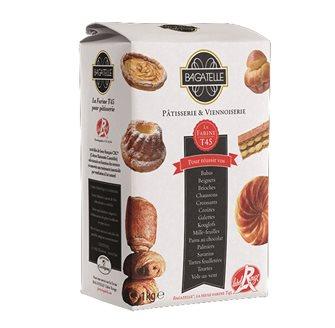 Farine de blé T45 pâtisserie et viennoiserie agriculture raisonnée 1 kg