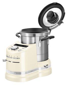 Robot cuiseur préparateur de cuisine tout-en-un beige KitchenAid
