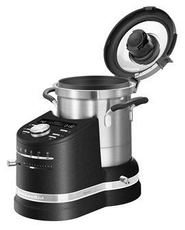 Robot cuiseur préparateur de cuisine tout-en-un noir KitchenAid