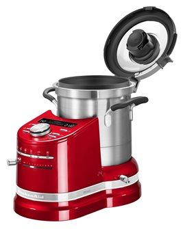Robot cuiseur préparateur de cuisine tout-en-un rouge KitchenAid