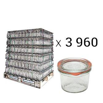 Verrines Weck 80 ml par palette de 3960