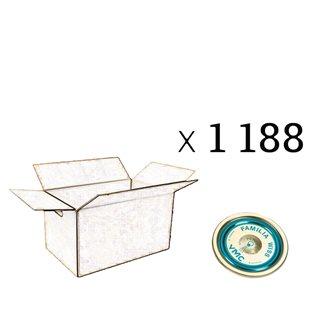 Capsule Familia Wiss® 82 mm par carton de 1188