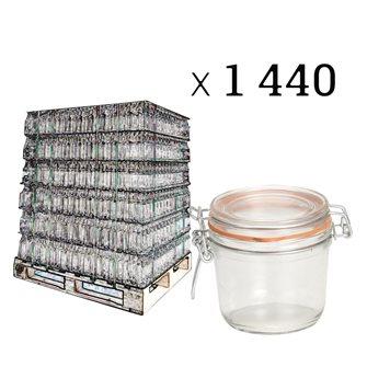 Verrine 350 grammes par palette de 1440