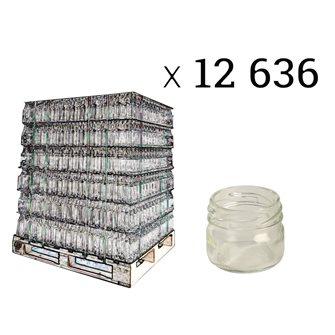 Petits pots en verre 41 ml twist off par 12636 pièces
