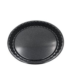 Moule à tarte acier émaillé 30 cm