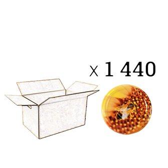 Capsules Twist-off miel Ape sur pollen Diam 63 par 1440