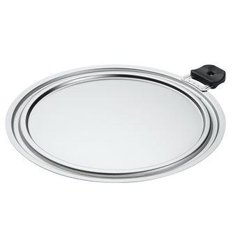 Couvercle gain de place 3 diamètres inox 26, 28, 30 cm
