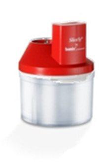 Mini hachoir SliceSy rouge pour mixeur plongeant Bamix
