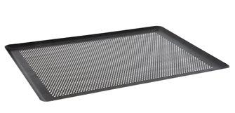 Plaque de cuisson anti-adhésive perforée 40x30 cm