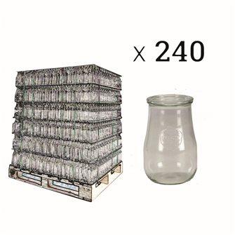 Bocal Weck 1,75 litre par palette de 240