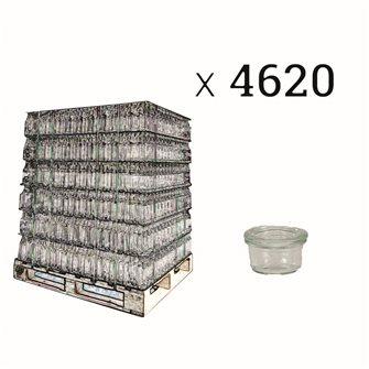 Verrines Weck 50 ml par palette de 4620