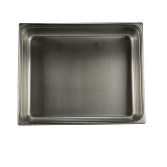 Bac gastronorm inox GN 2/1 h. 10 cm EN-631