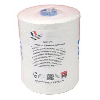 Recharge 1 kg pour seau de ficelle à découpe manuelle pour rôtis blanche