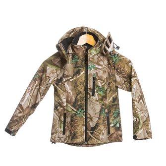 Blouson enfant camouflage feuille Bartavel Buffalo 12 ans softshell