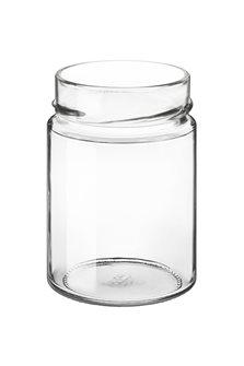 Bocal verre 212 ml diam 73 mm à capsule avec jupe très haute par 24