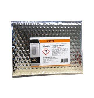 Kit de nettoyage et détartrage pour machines expresso CAFSLIMI/CAFSLILA