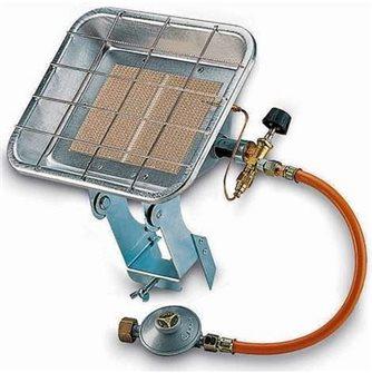 Chauffage radiant infrarouge mobile pour bouteille de gaz butane ou propane