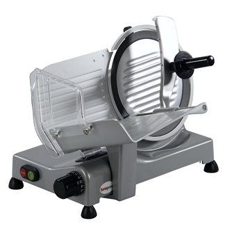 Trancheuse électrique Tom Press 250 mm lame téflonnée nettoyage facile CE Pro