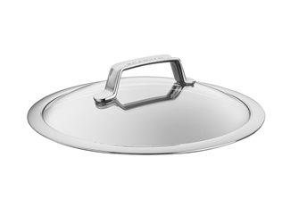 Couvercle verre et inox 26 cm TechnIQ SCANPAN