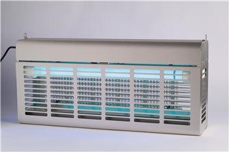 Désinsectiseur inox électrique de 2x20W pour 120m²