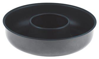 Moule à savarin débouché 24 cm en acier antiadhérent Obsidian