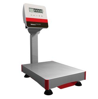 Balance à colonne 15 kg étanche IP65 plate-forme inox fabriquée en France