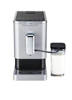 Machine à café expresso broyeur à grains avec pichet à lait intégré